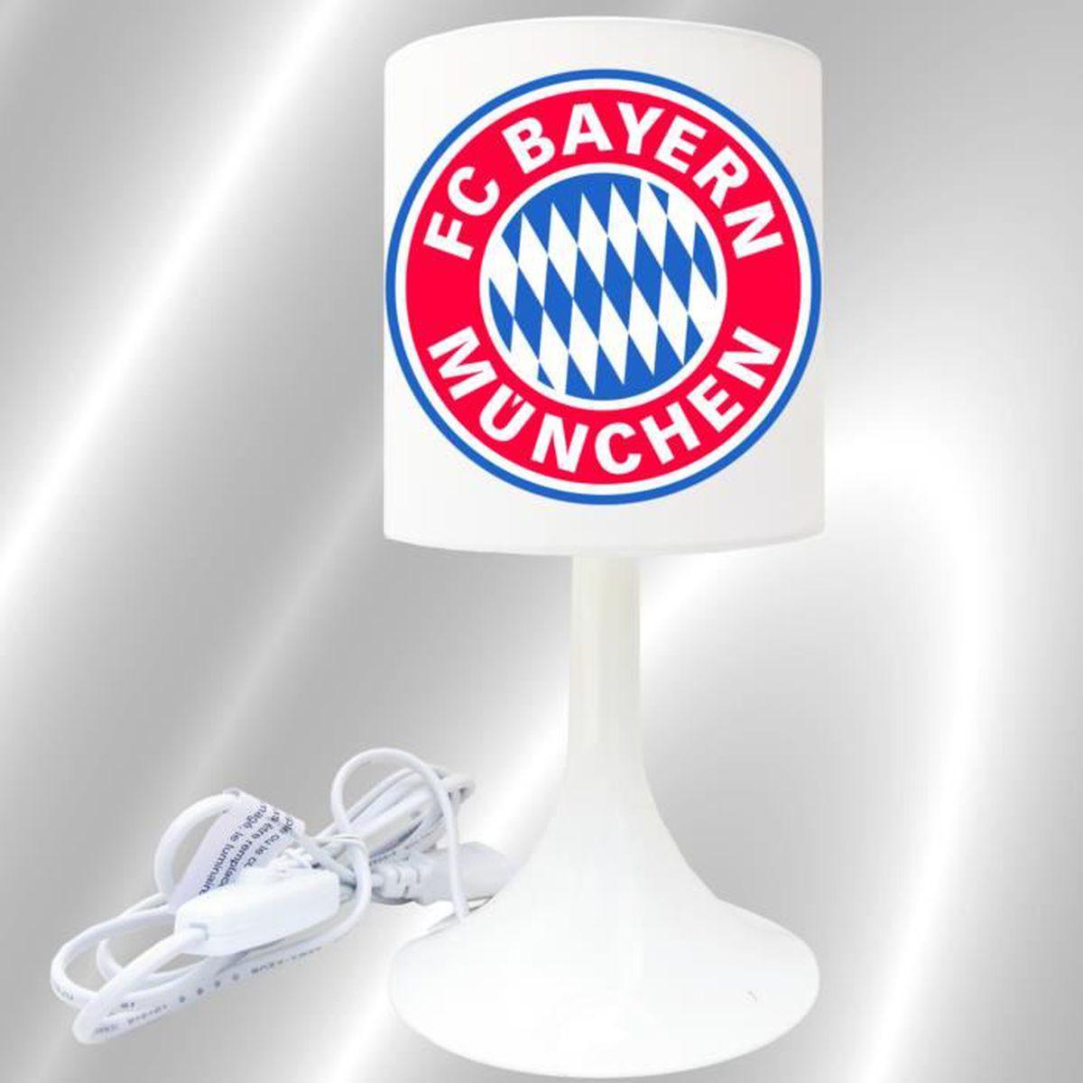 fc bayern lampe