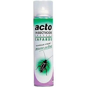 PRODUIT INSECTICIDE Cafards Acto - Aérosol 400 ml