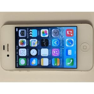 SMARTPHONE IPHONE 4S  8GO BLANC TOP MOINS CHERE