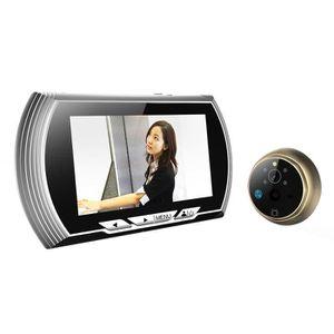 CAMÉSCOPE NUMÉRIQUE Ansangge ®4.3 pouces LCD Digital Door Viewer Judas