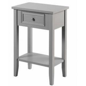chevet meuble de chevet table de nuit taupe 1 ti - Table De Nuit Etagere