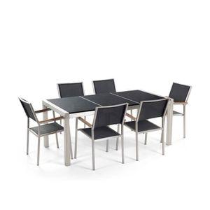 chaise de jardin inox achat vente chaise de jardin. Black Bedroom Furniture Sets. Home Design Ideas