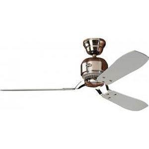 VENTILATEUR DE PLAFOND Ventilateur de plafond TONSAY de Faro, lumière …