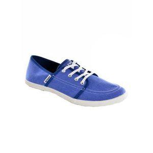 Feiyue baskets mode  0190 - cassis bleu bleu - Chaussures Basket Femme