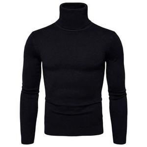 6564fb1fab8 Pull noir homme - Achat   Vente Pull noir Homme pas cher - Cdiscount ...