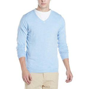 Marks Spencer Mens Sweater O2zwb Taille L Bleu Bleu Achat