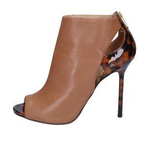 BOTTINE SERGIO ROSSI Chaussures Femme Bottine Cuir Marron