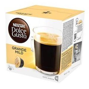 CAFÉ - CHICORÉE Nescafé 16x Dolce Gusto, 128 g, 8 g, Capsules, 16