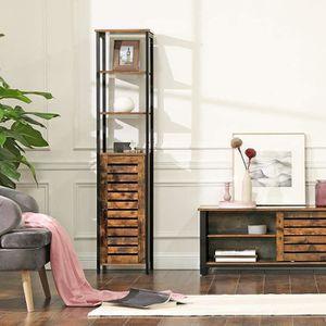 BUFFET DE CUISINE VASAGLE Meuble colonne, Meuble de rangement, Style