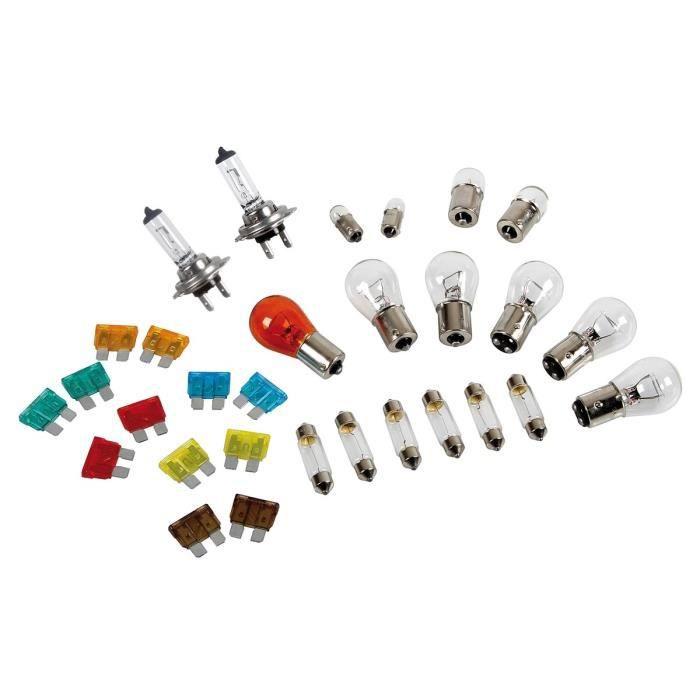 Coffret Ampoules de Secours H7 24V 30 Pièces