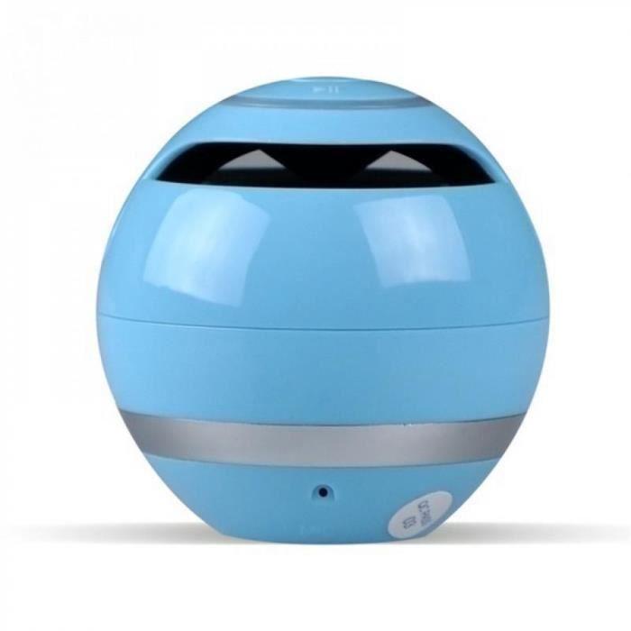 Portable Haut-parleurs Blue Electronique Sans Fil Mini Bluetooth Haut-parleur Champignon Étanche Stéréo