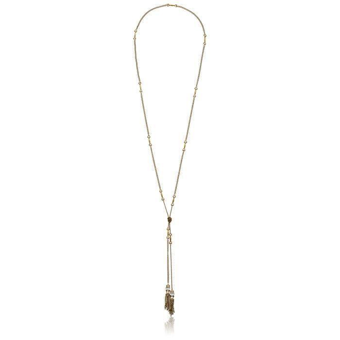 Sorrelli Lisa Oswald Collection Tassel Wrap Necklace, 34 EUDUA