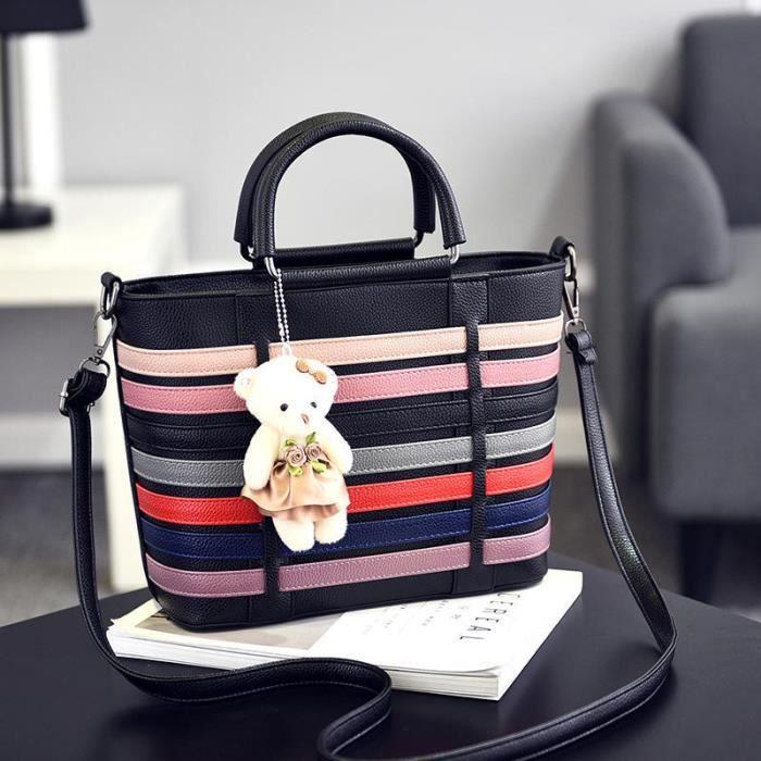 sac à main cuir Sac Marque De Luxe Femme Cuir pochette femme marque luxe Sac De Luxe Les Plus Vendu noir qualité supérieure