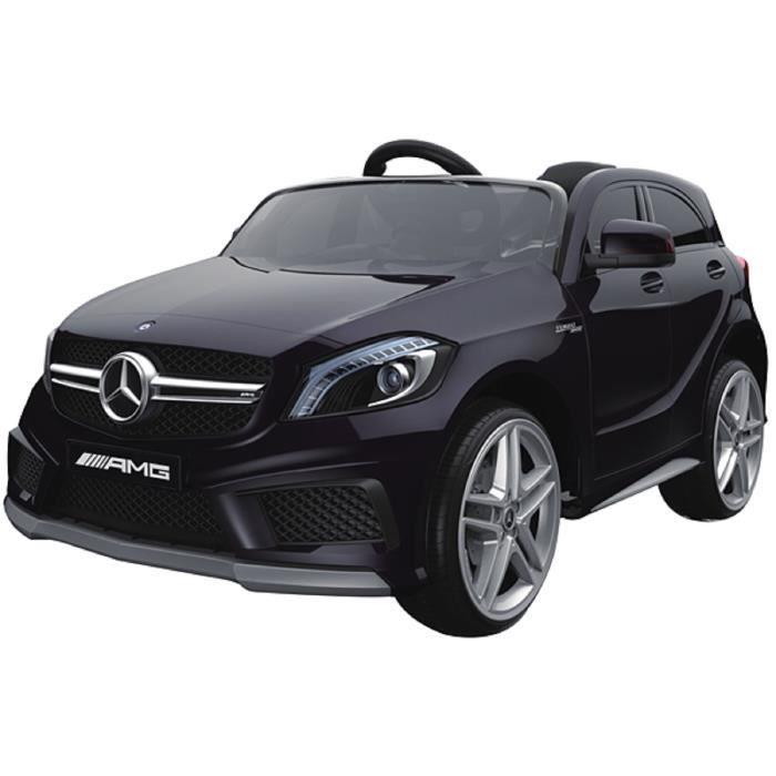 voiture electrique enfant mercedes a45 amg noire achat vente voiture enfant cdiscount. Black Bedroom Furniture Sets. Home Design Ideas