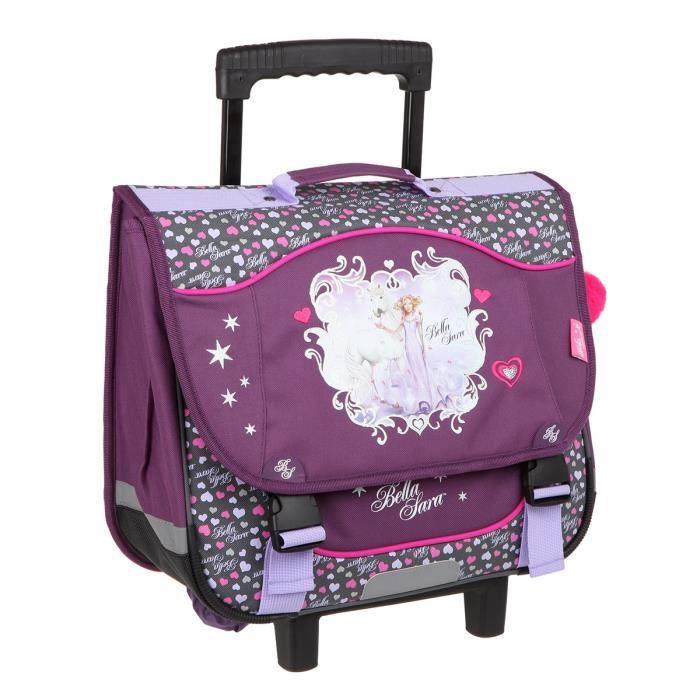 Cartable trolley fille - Achat   Vente pas cher 817a0e27325d