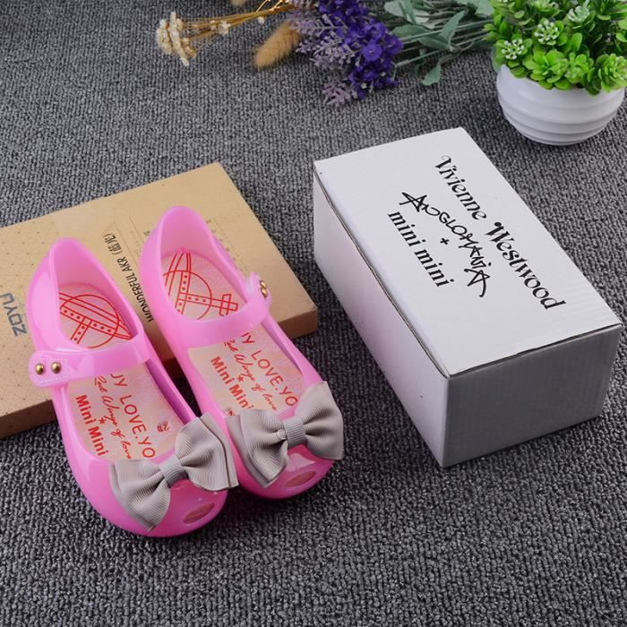 Mini Melissa Led chaussures fille sandales Butterfly