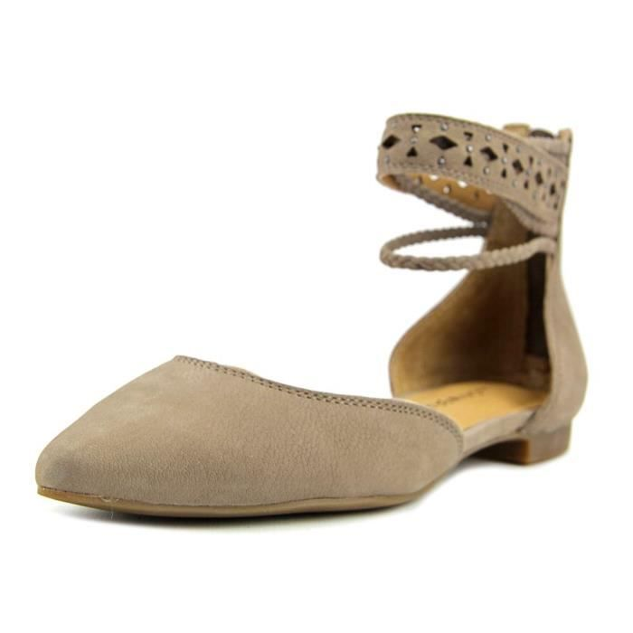 Lucky Brand Madoz Cuir Chaussure Plate zW52Ao