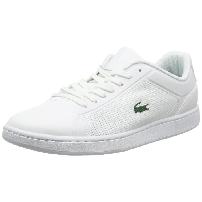 a0f1dd2346 Lacoste Endliner 116 2 Sneakers-top pour hommes FVHHC Blanc Blanc ...