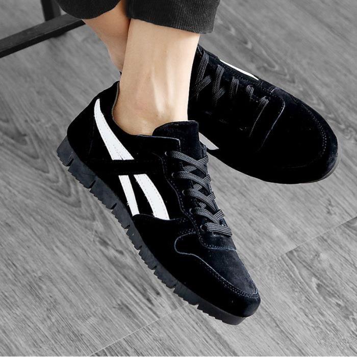 Basket Chaussures de sport respirant pour hommes chaussures décontractées qPk1kI4