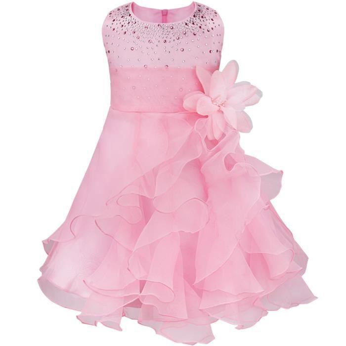 outlet Design moderne prix abordable Robe de cérémonie - Pour fille - Sans manches - De 3 mois à 3 ans