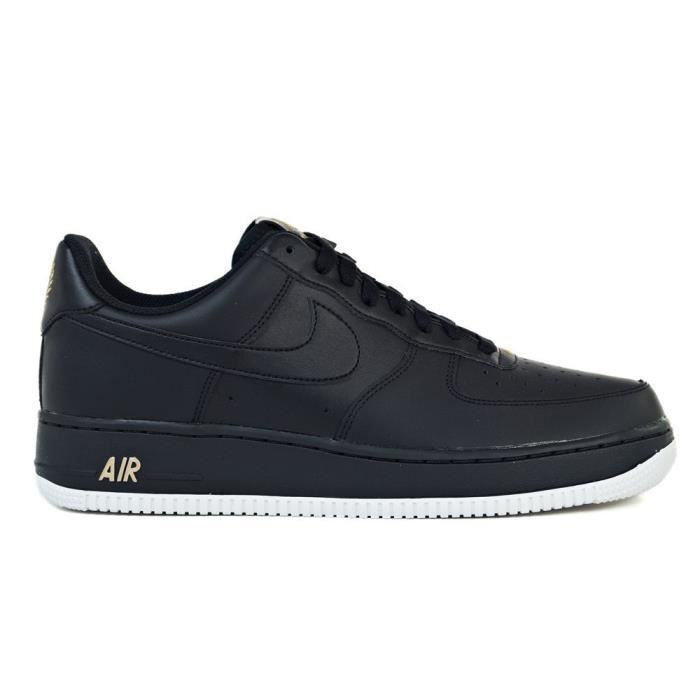 Basket 1 Air Force Vente Achat 07 Chaussures Nike Noir mNO08nvw