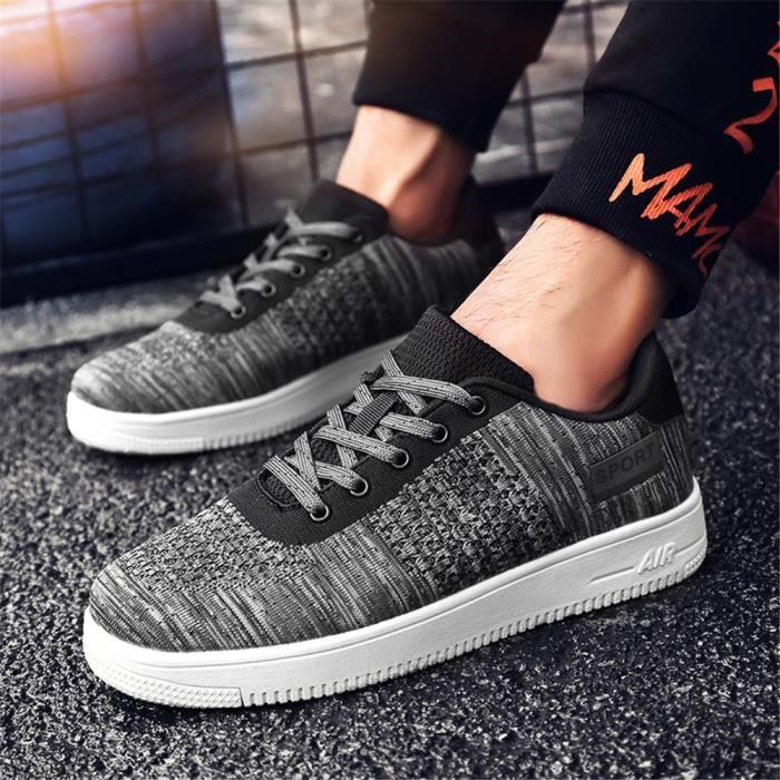 Grande Sneakers Luxe À Homme Q1 Cool Chaussures Résistantes L'usure Classique Taille De Baskets Antidérapant Marque Durable m80NnOvw
