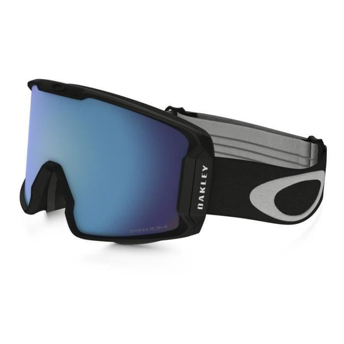 95b738783b Masque Ski Oakley Line Miner Black Prizm Sapphire Bleu - Prix pas ...