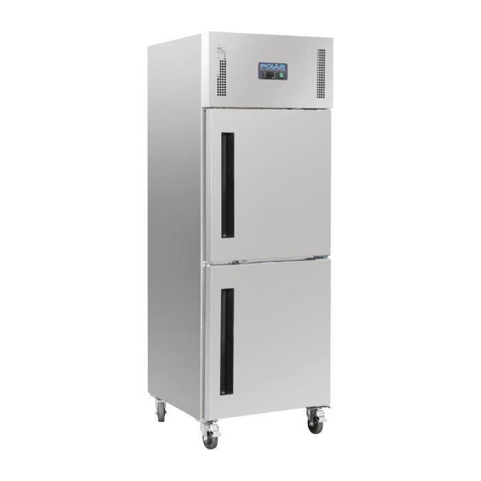 CONGÉLATEUR PORTE Armoire réfrigérée négative 2 portillons GN 2/1 Po