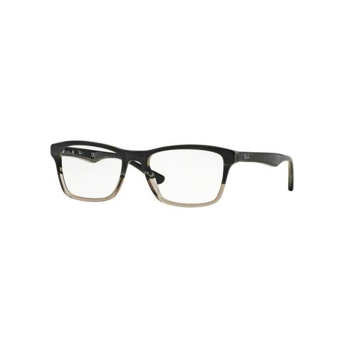 Lunettes de vue Ray-Ban Homme RX5279 5540 Grise 53 x 37 - Achat   Vente lunettes  de vue Lunettes de vue Ray-Ban Ho... Homme Adulte - Soldes  dès le 9 ... df5ebc77dd38