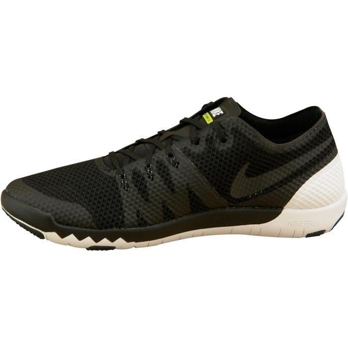 Nike Free Blanc Trainer 30 V3 705270001 Noir Blanc Free Hommes chaussures de 500c02