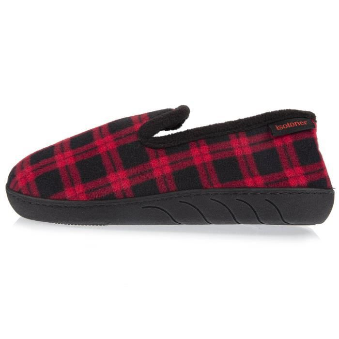Chaussons charentaises fille tartan efPe3Y