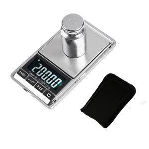 BALANCE ÉLECTRONIQUE  200g * 0.01g Mini balance numérique de poche Gram