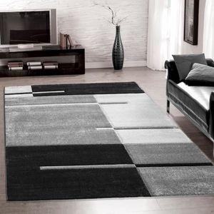 tapis de salon achat vente tapis de salon pas cher cdiscount. Black Bedroom Furniture Sets. Home Design Ideas