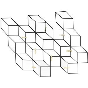 PÊLE-MÊLE PHOTO ALPHONSE Pêle-mêle filaires - 8 pinces - 46X42 cm