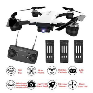 DRONE JDRC WIFI FPV RTF RC Drone Fly More Combo 3 Batter