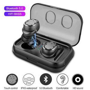 CASQUE - ÉCOUTEURS TWS Ecouteur Oreillette Bluetooth 5.0 Casque sans