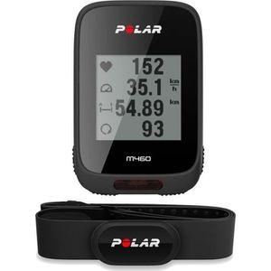 COMPTEUR POUR CYCLE POLAR Compteur vélo GPS M460 avec ceinture cardio
