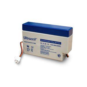 BATTERIE DOMOTIQUE Batterie Plomb Etanche 12V 0.8Ah UL0.8-12 AMP JST