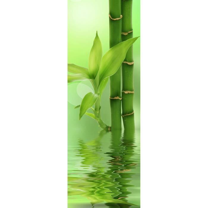 tableau décoration bambou