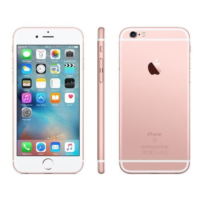 80b568baaea410 APPLE iPhone 6S 16G - Rose Or(A1688) - Achat smartphone pas cher ...