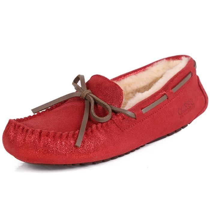 Tremblant Moc Slipper RN1SN Taille-36 OYplSnVf