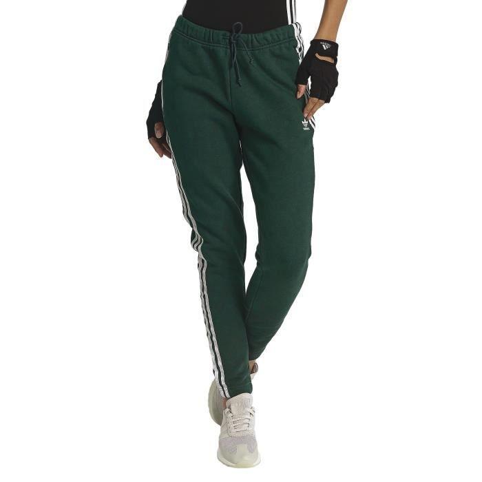 34d5928168 Adidas Femme Pantalons & Shorts // Jogging Regular Cuff Vert Vert ...