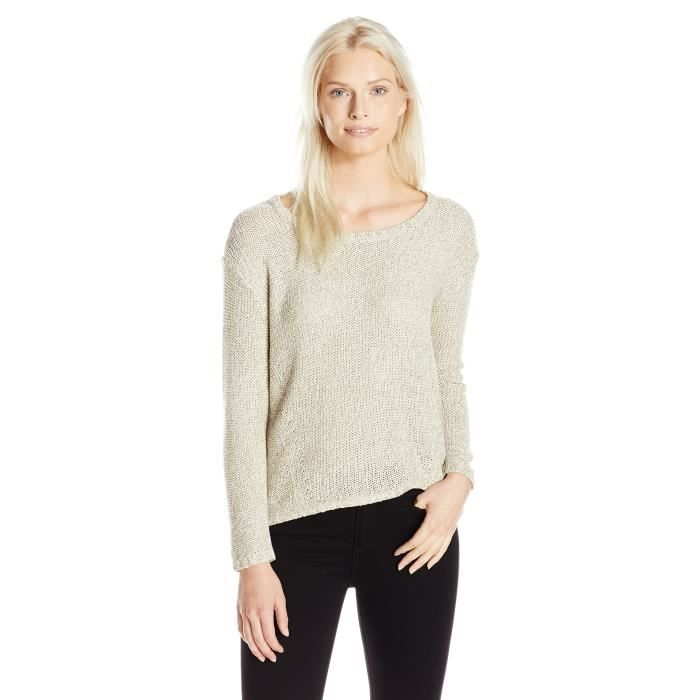 Womens Elbow Patch Sweater Vx90b Taille 34 Blanc Blanc Achat