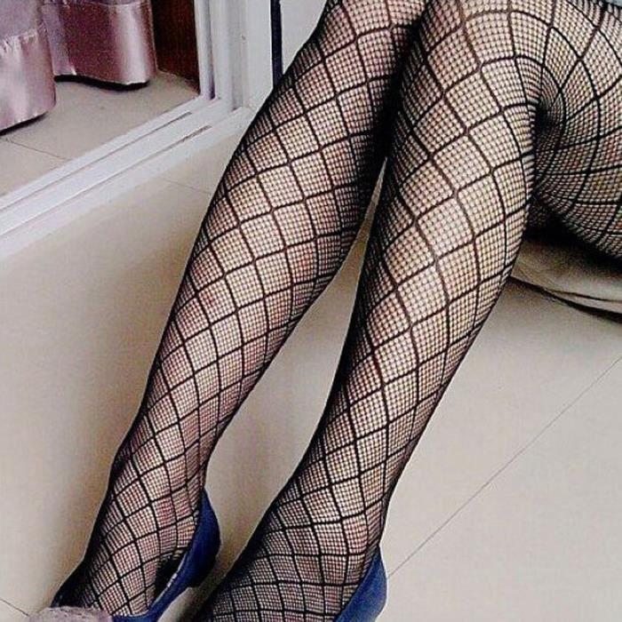 Mode Femmes so2508 Bodystockings Net Collants Bas Résille ffw4r