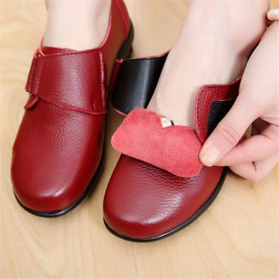 Chaussures Été Yst Printemps Femme Cuir Comfortable Chaussure xz063rouge43 rdBCxoe