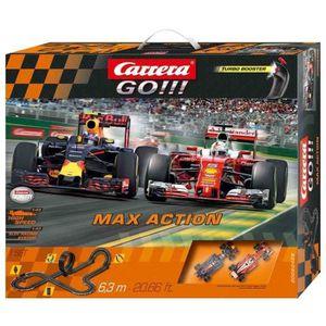 Stadlbauer - Circuit Carrera Go!!! Max Action avec circuit et voiture ? l'échelle 1/43.