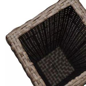 JARDINIÈRE - POT FLEUR  Pots et cache-pots Couleur : marron Petit : 15 x 1