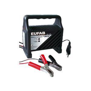 CHARGEUR DE BATTERIE EUFAB Chargeur de Batterie 6A -12 V