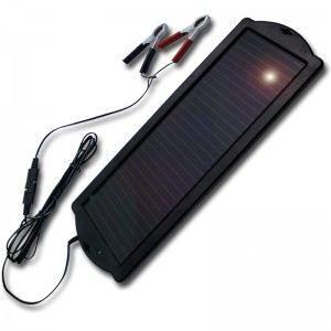 CHARGEUR DE BATTERIE Chargeur solaire 12V / 1,5W