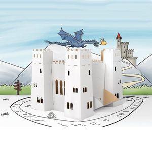 Coloriage Chateau Ps.Chateau Fort A Construire Achat Vente Jeux Et Jouets Pas Chers
